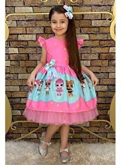 Riccotarz Kız Çocuk Lol Baby Star Elbise